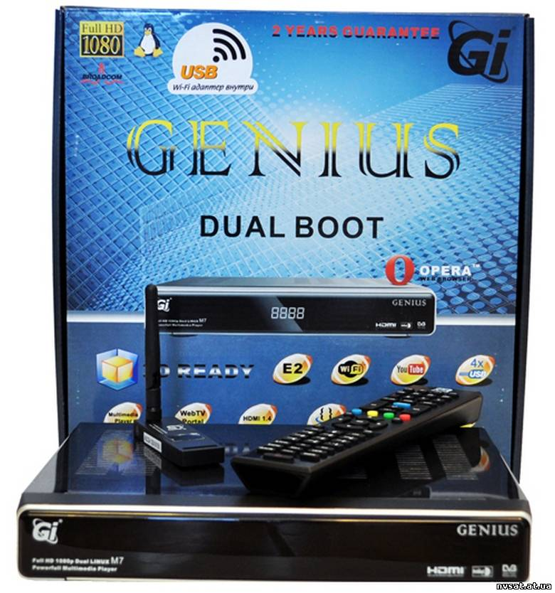 Galaxy Innovations Genius М7- Enigma2 HD PVR - Ресиверы HDTV
